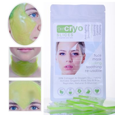 eyeSlices Cryogel Face Mask 3 pieces